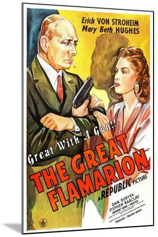 The Great Flamarion--Mounted Art Print