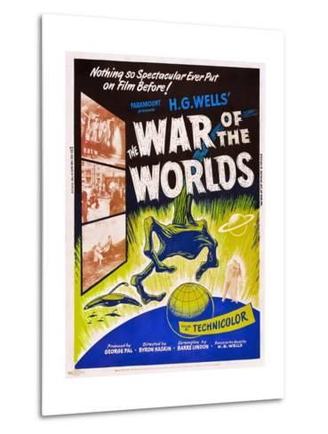 The War of the Worlds--Metal Print