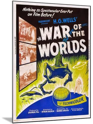 The War of the Worlds--Mounted Art Print
