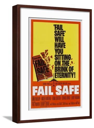 Fail-Safe--Framed Art Print