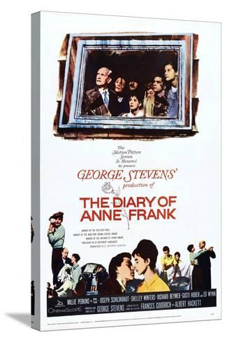 The Diary of Anne Frank--Stretched Canvas Print