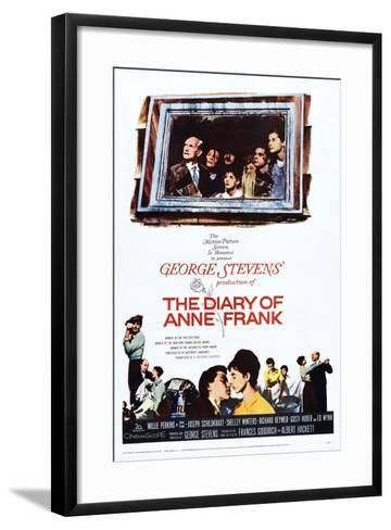 The Diary of Anne Frank--Framed Art Print