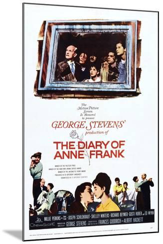 The Diary of Anne Frank--Mounted Art Print