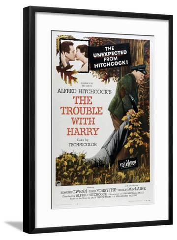 The Trouble with Harry--Framed Art Print