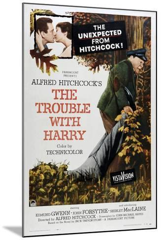 The Trouble with Harry--Mounted Art Print