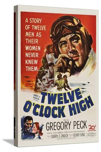Twelve O'Clock High--Stretched Canvas Print