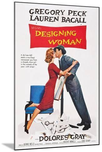 Designing Woman--Mounted Art Print