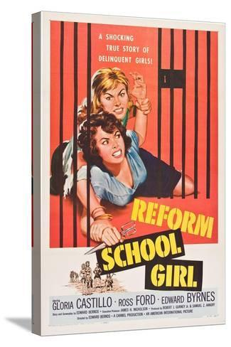 Reform School Girl--Stretched Canvas Print