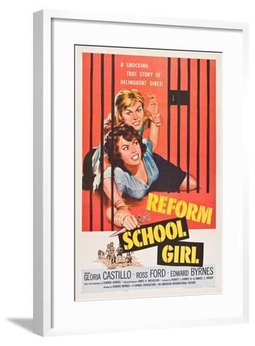 Reform School Girl--Framed Art Print