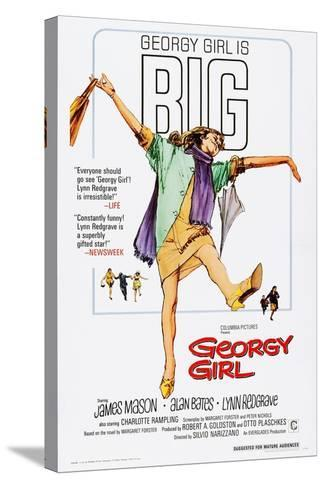 Georgy Girl--Stretched Canvas Print