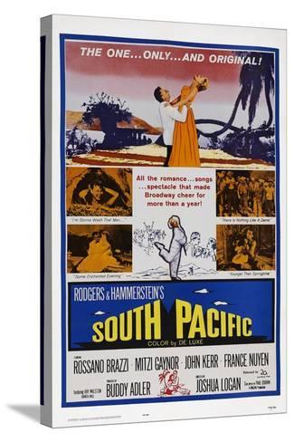 South Pacific--Stretched Canvas Print