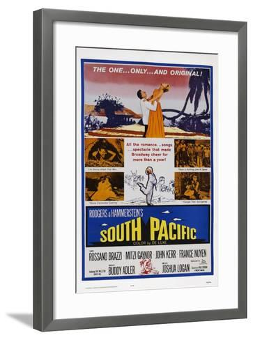 South Pacific--Framed Art Print