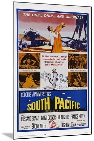 South Pacific--Mounted Art Print