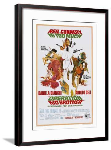Operation Kid Brothers--Framed Art Print