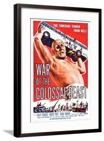 War of the Colossal Beast--Framed Art Print