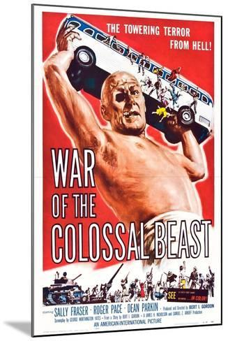 War of the Colossal Beast--Mounted Art Print