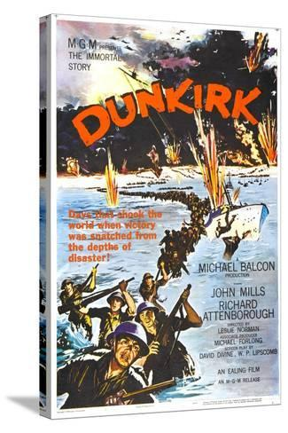 Dunkirk--Stretched Canvas Print