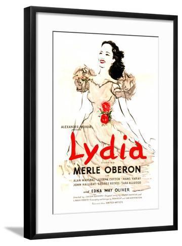 Lydia--Framed Art Print