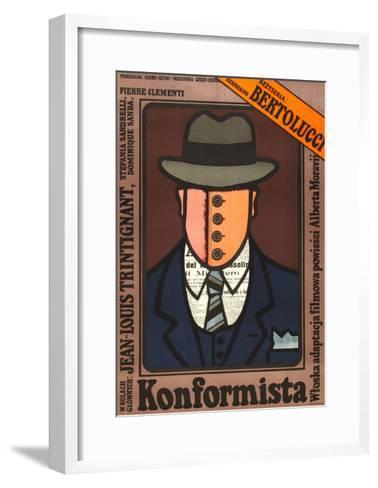 The Conformist--Framed Art Print