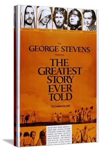 The Greatest Story Every Told--Stretched Canvas Print