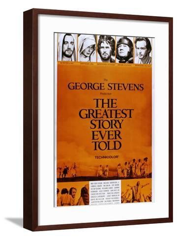 The Greatest Story Every Told--Framed Art Print