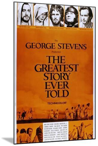 The Greatest Story Every Told--Mounted Art Print