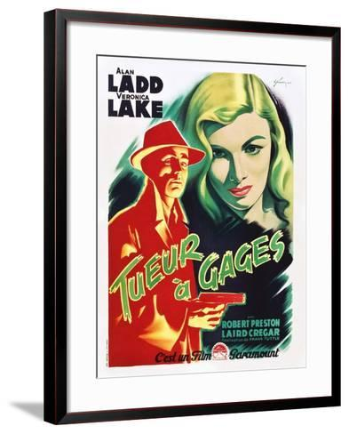 This Gun for Hire--Framed Art Print