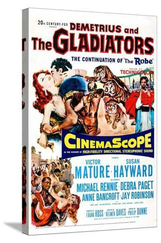 Demetrius and the Gladiators--Stretched Canvas Print