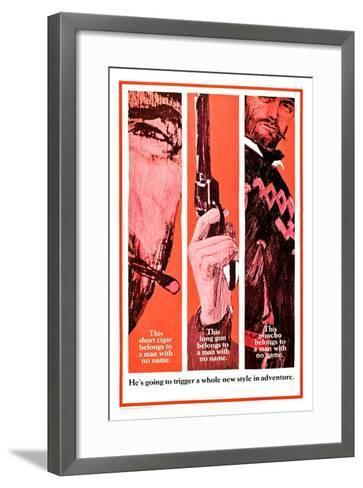 A Fistful of Dollars (aka Per Un Pugno Di Dollari)--Framed Art Print