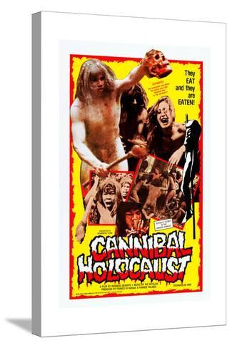 Cannibal Holocaust--Stretched Canvas Print