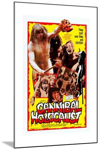 Cannibal Holocaust--Mounted Art Print