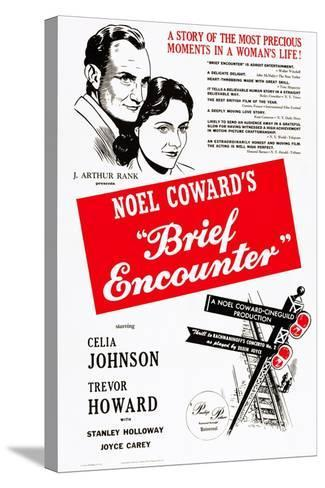 Brief Encounter--Stretched Canvas Print