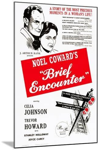 Brief Encounter--Mounted Art Print