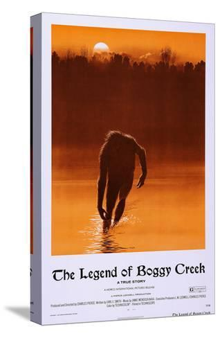 The Legend of Boggy Creek--Stretched Canvas Print