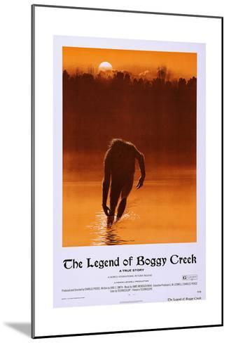 The Legend of Boggy Creek--Mounted Art Print