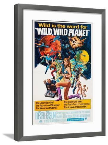 Wild--Framed Art Print