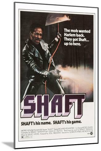 Shaft--Mounted Art Print