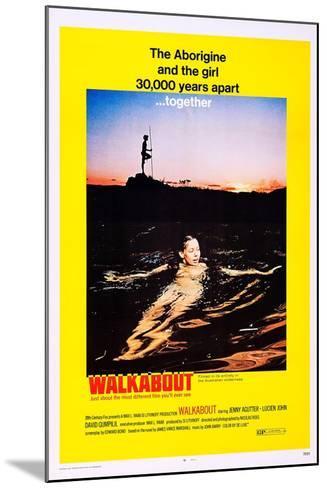 Walkabout--Mounted Art Print