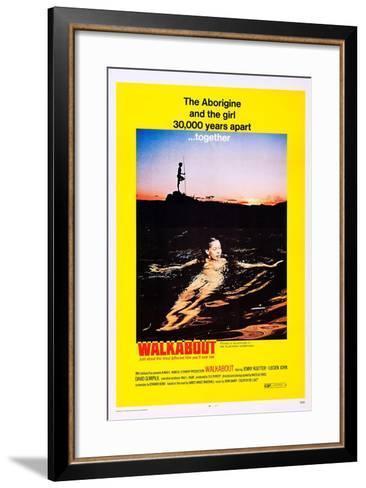 Walkabout--Framed Art Print