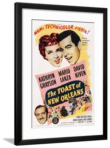 The Toast of New Orleans--Framed Art Print