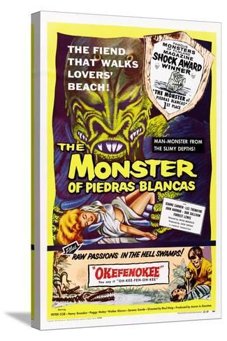 The Monster of Piedras Blancas--Stretched Canvas Print
