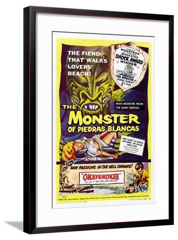 The Monster of Piedras Blancas--Framed Art Print