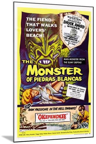 The Monster of Piedras Blancas--Mounted Art Print