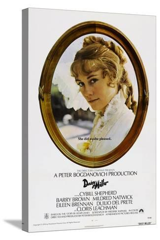 Daisy Miller--Stretched Canvas Print