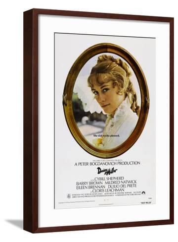 Daisy Miller--Framed Art Print