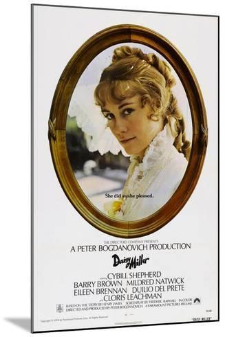 Daisy Miller--Mounted Art Print