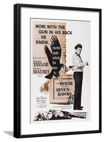 The House of the Seven Hawks--Framed Art Print