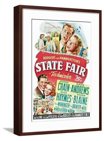 State Fair--Framed Art Print