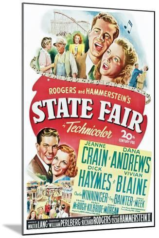 State Fair--Mounted Art Print