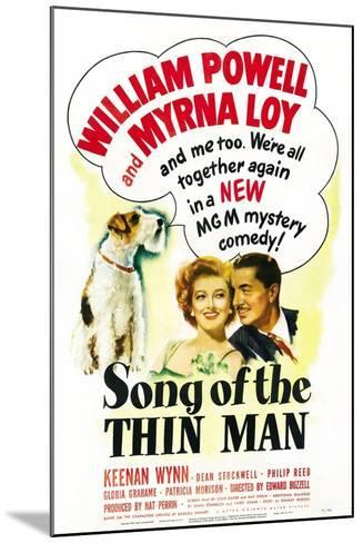 Song of the Thin Man--Mounted Art Print